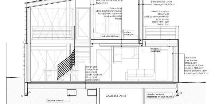 Transformation importante d'une Habitation, Villers-l'Evêque, région de Liège