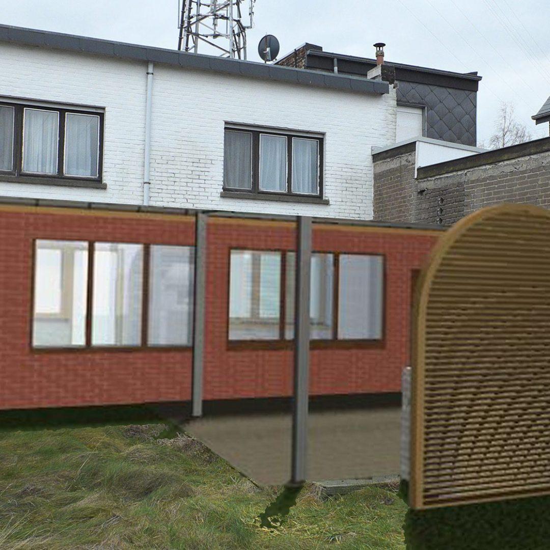 Régularisation d'une annexe à l'arrière d'une habitation à Beyne-Heusay, Liège