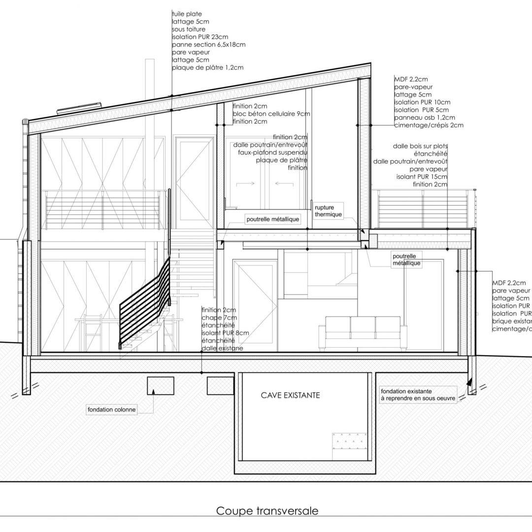 Transformation d'une Habitation, Villers-l'Evêque, région de Liège