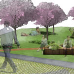 améagement paysager espace public liège