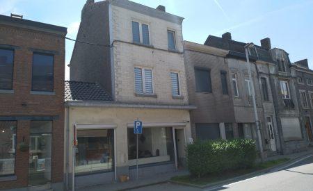 Changement d'affectation d'un rdc commercial et transformation de la façade à Engis