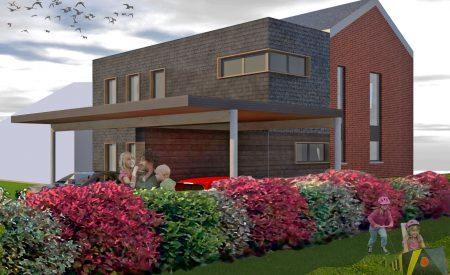 Extension et transformation d'une habitation à Amay
